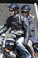 keanu reeves motorcycle ride with mystery blonde 04