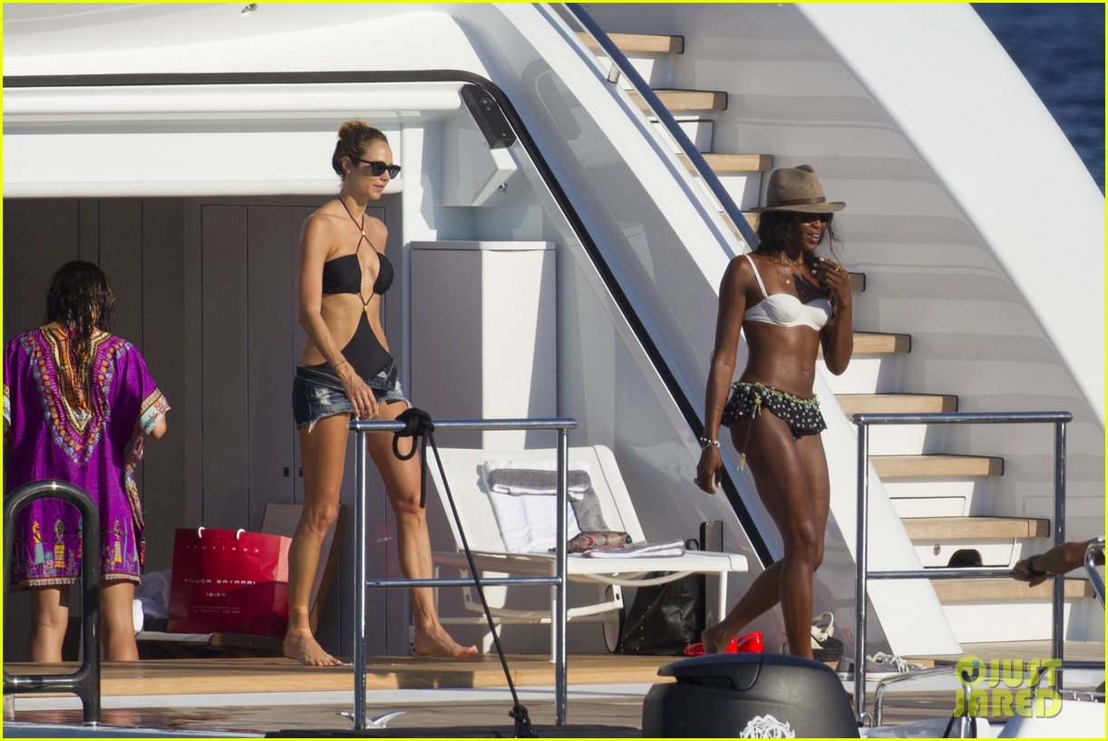 stacy keibler naomi campbell bikini babes in ibiza 142931356