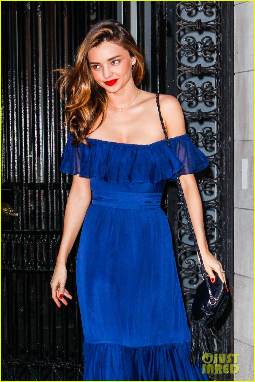 miranda kerr blue bombshell in new york city 042937023