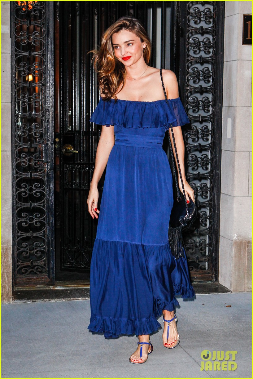 miranda kerr blue bombshell in new york city 052937024