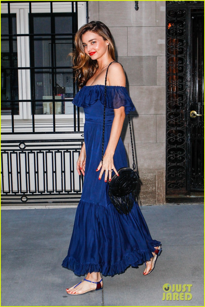 miranda kerr blue bombshell in new york city 112937030