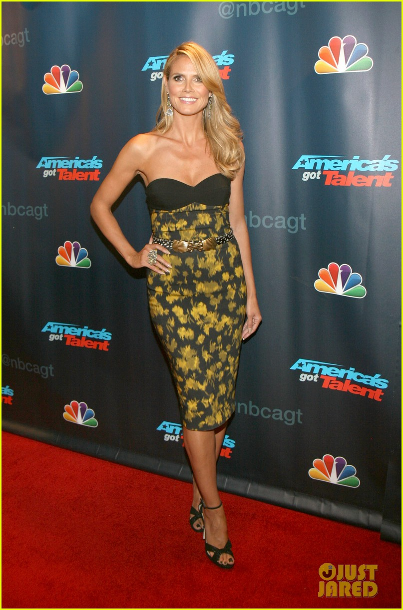 heidi klum americas got talent red carpet party 092921593