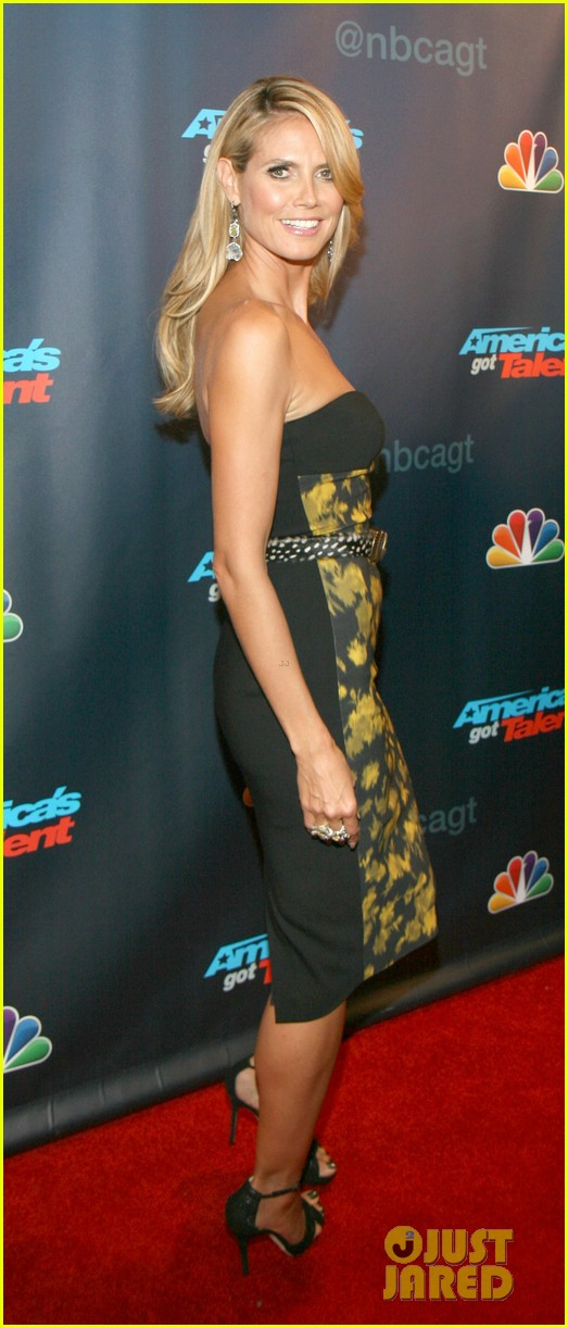heidi klum americas got talent red carpet party 10