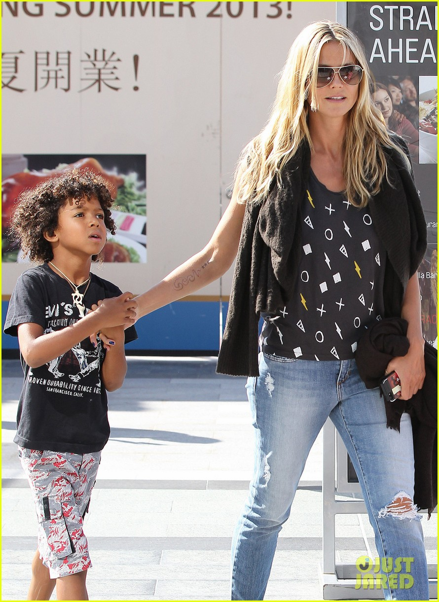 heidi klum enjoys family movie afternoon 022923796
