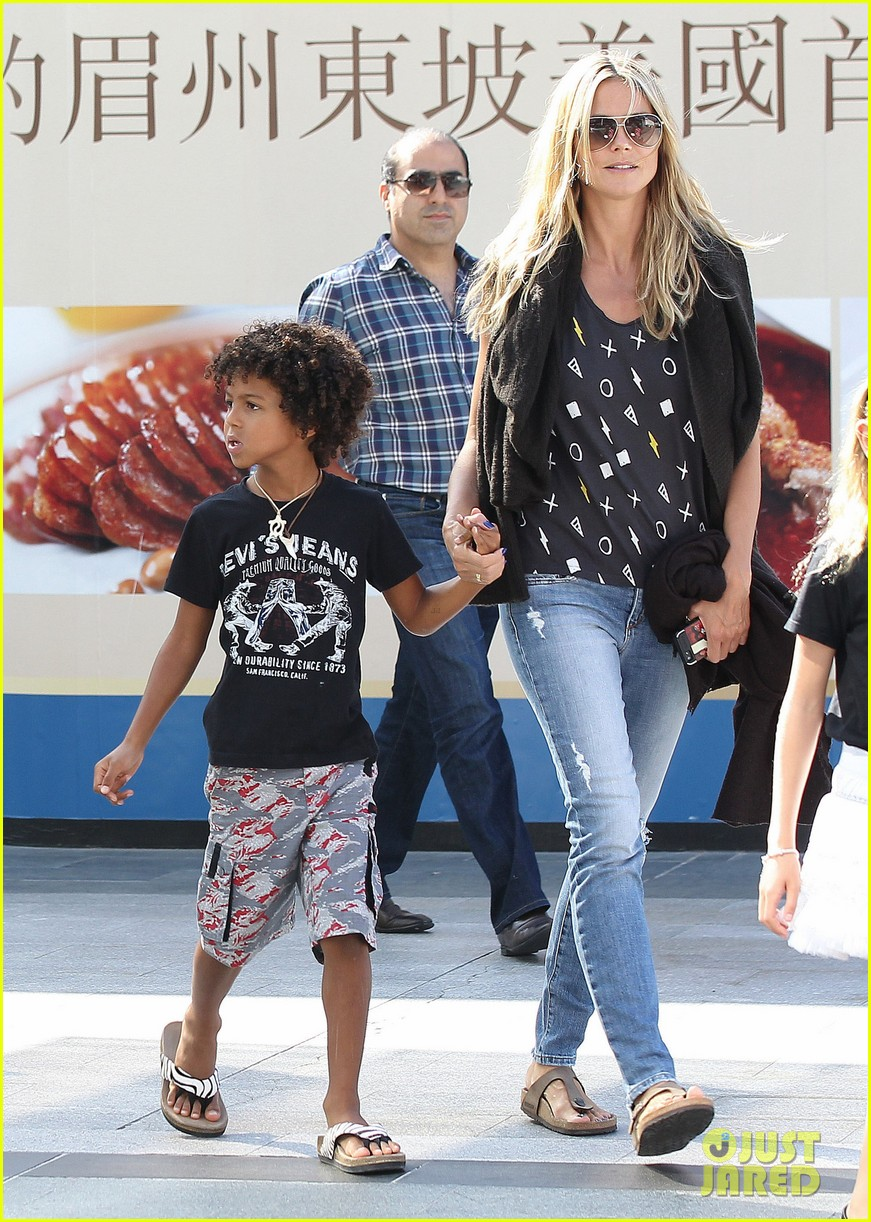 heidi klum enjoys family movie afternoon 202923814