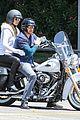 heidi klum martin kirsten motorcycle ride without kids 21
