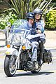 heidi klum martin kirsten motorcycle ride without kids 23