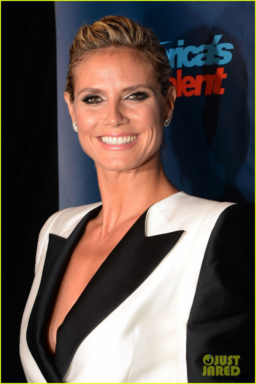 heidi klum mel b americas got talent third results show 082925839