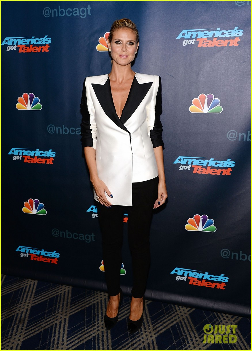 heidi klum mel b americas got talent third results show 11