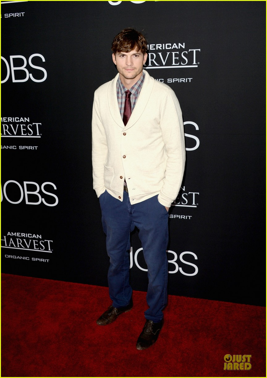 ashton kutcher ahna oreilly jobs la screening 012929764