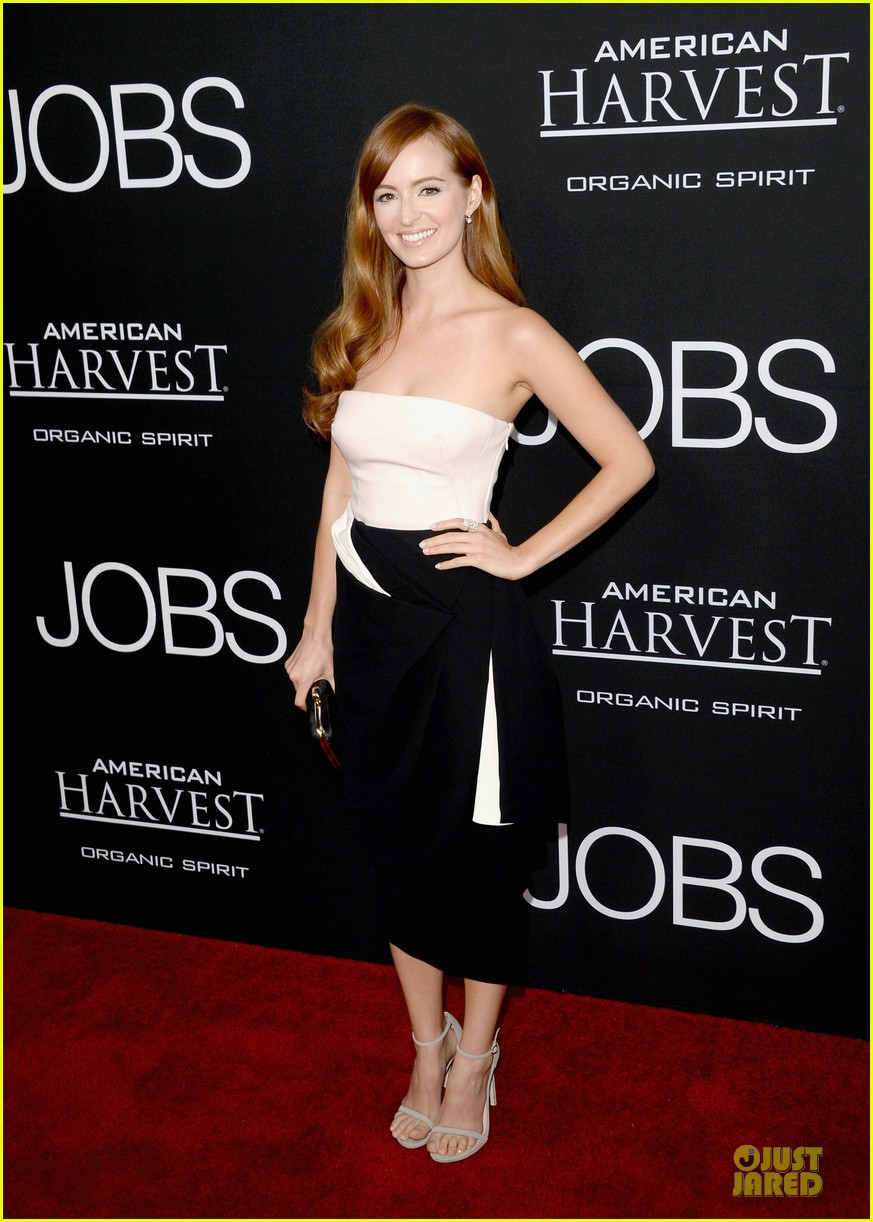 ashton kutcher ahna oreilly jobs la screening 032929766