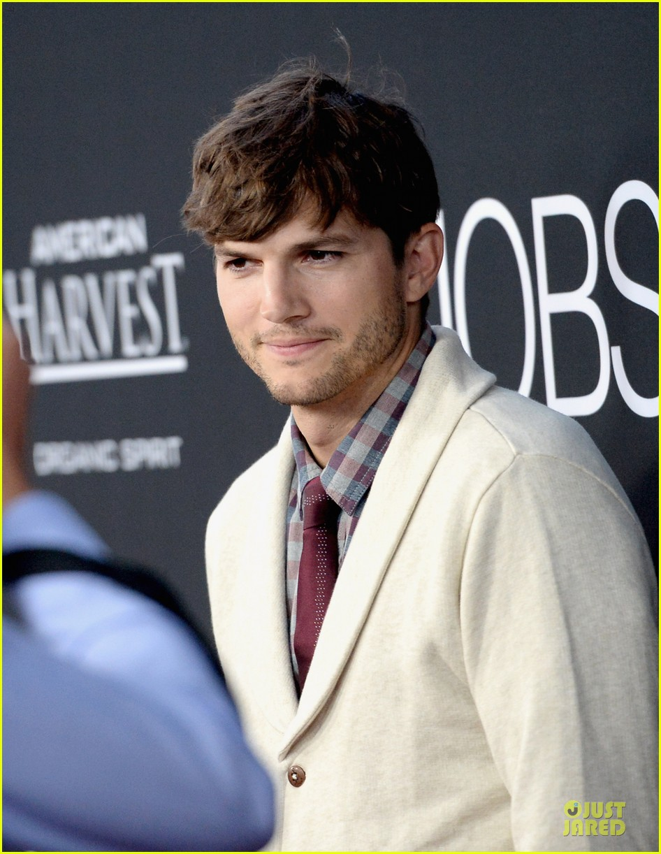 ashton kutcher ahna oreilly jobs la screening 202929783