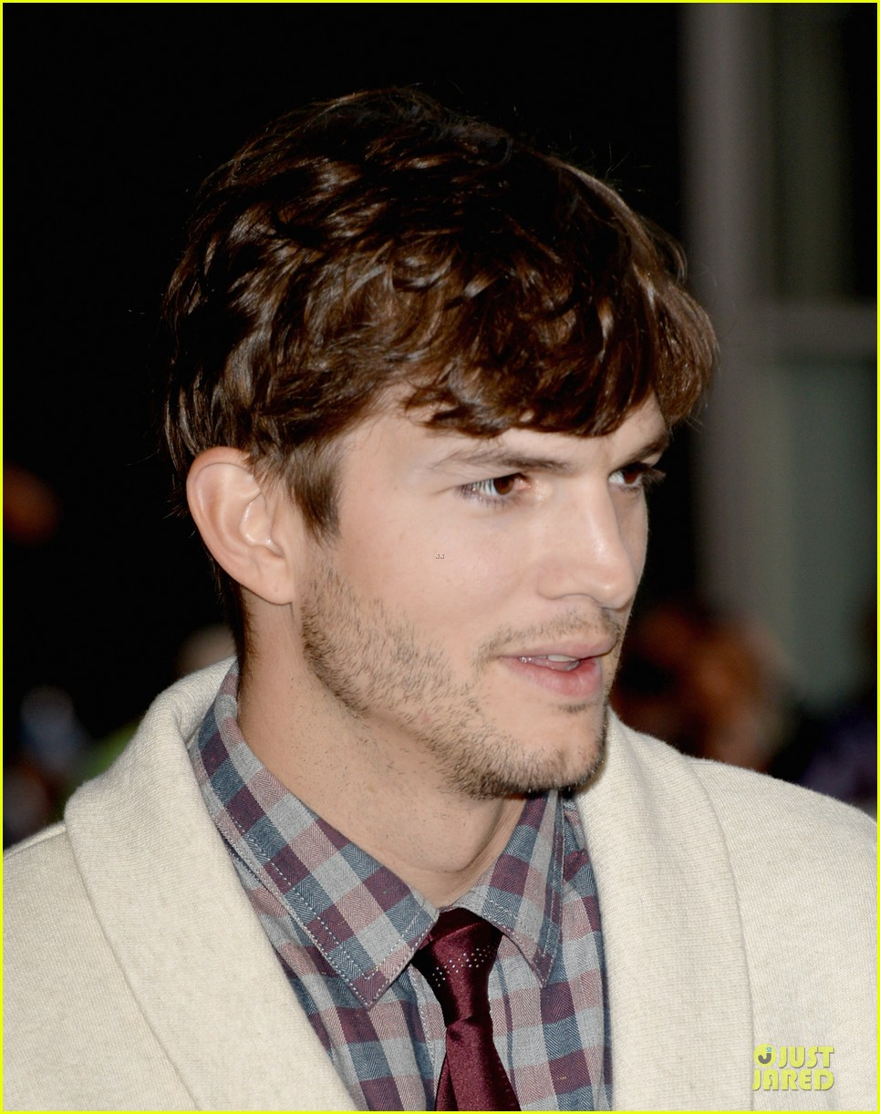 ashton kutcher ahna oreilly jobs la screening 232929786