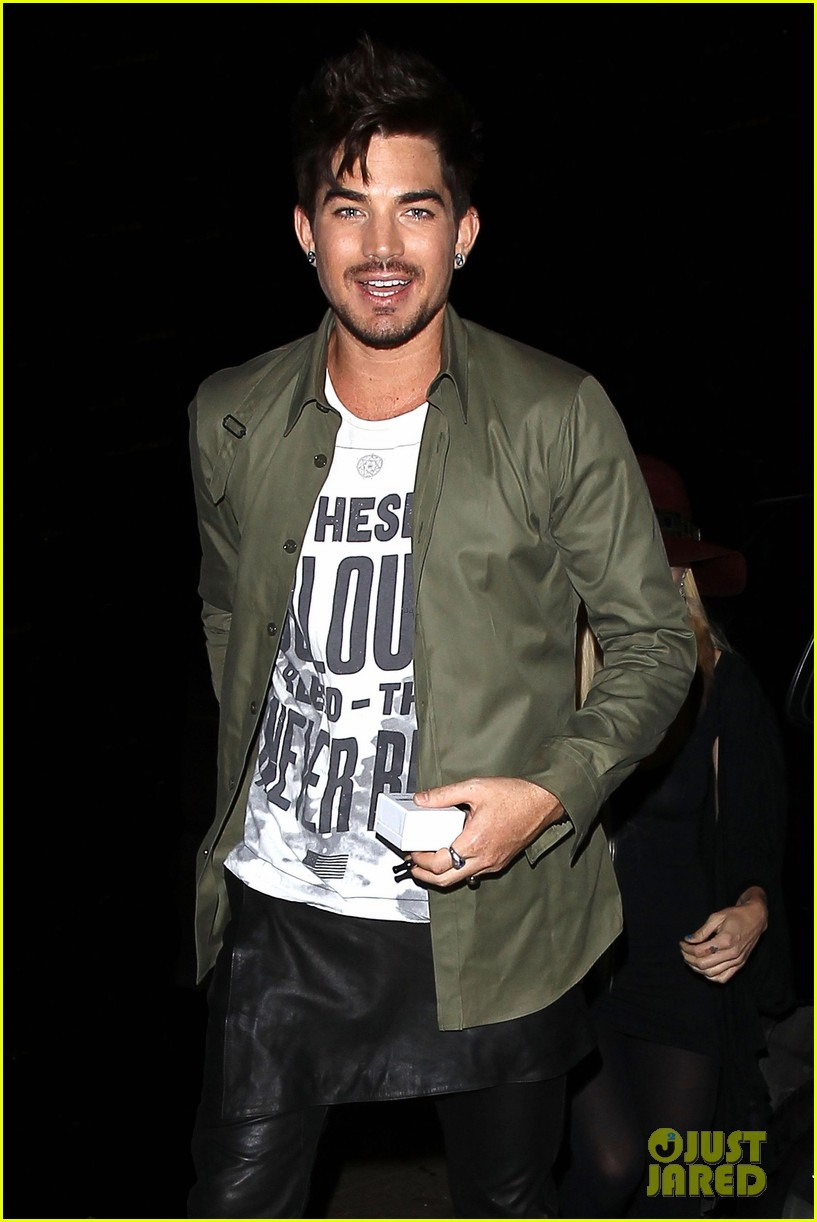 adam lambert ashley greene hooray henrys opening night 172925925