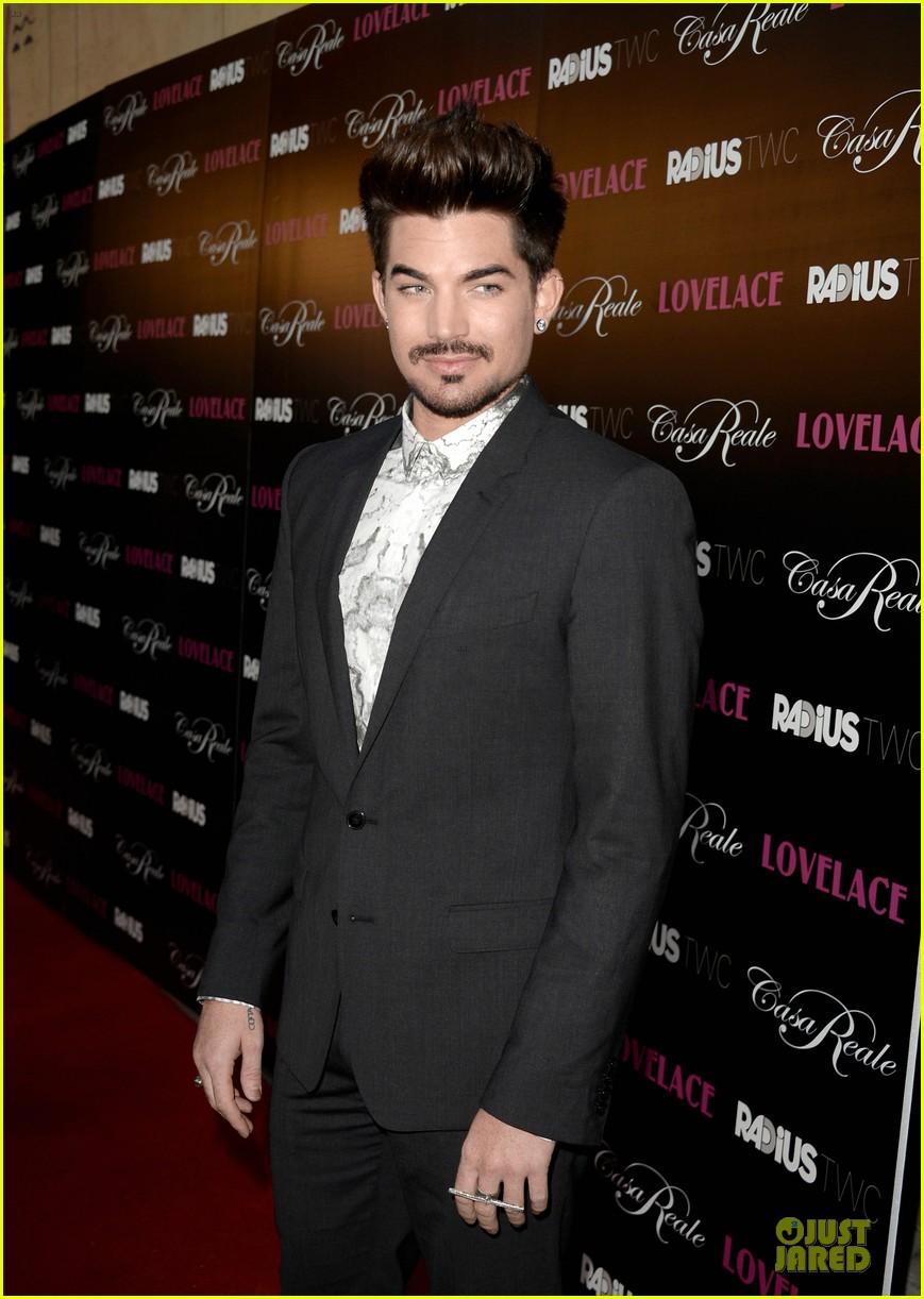 adam lambert lovelace hollywood premiere 092924668
