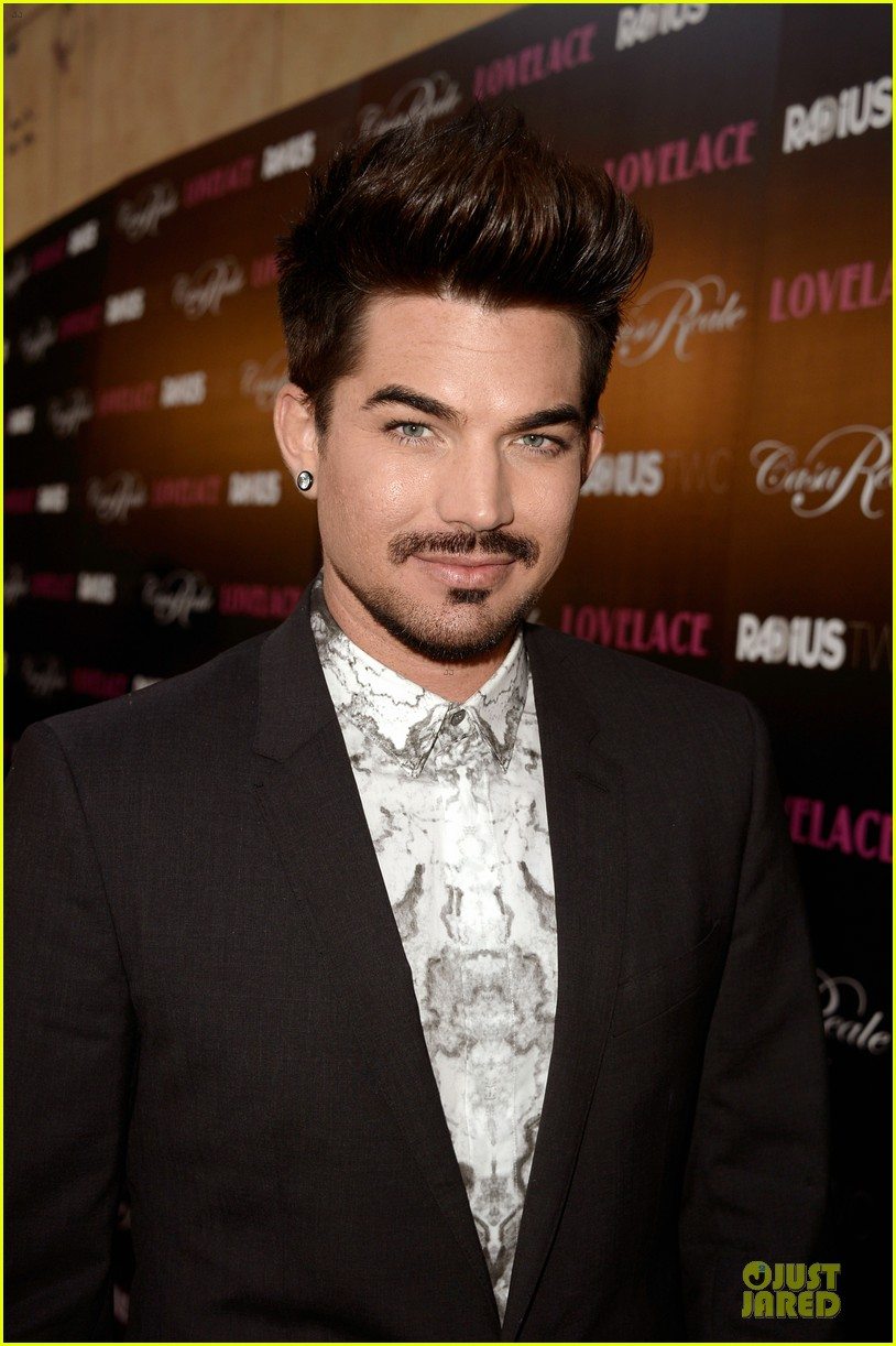 adam lambert lovelace hollywood premiere 102924669