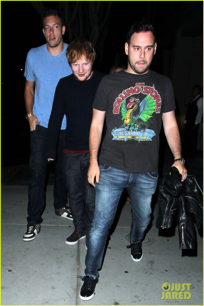 adam lambert ed sheeran hooray henrys night out 022940008