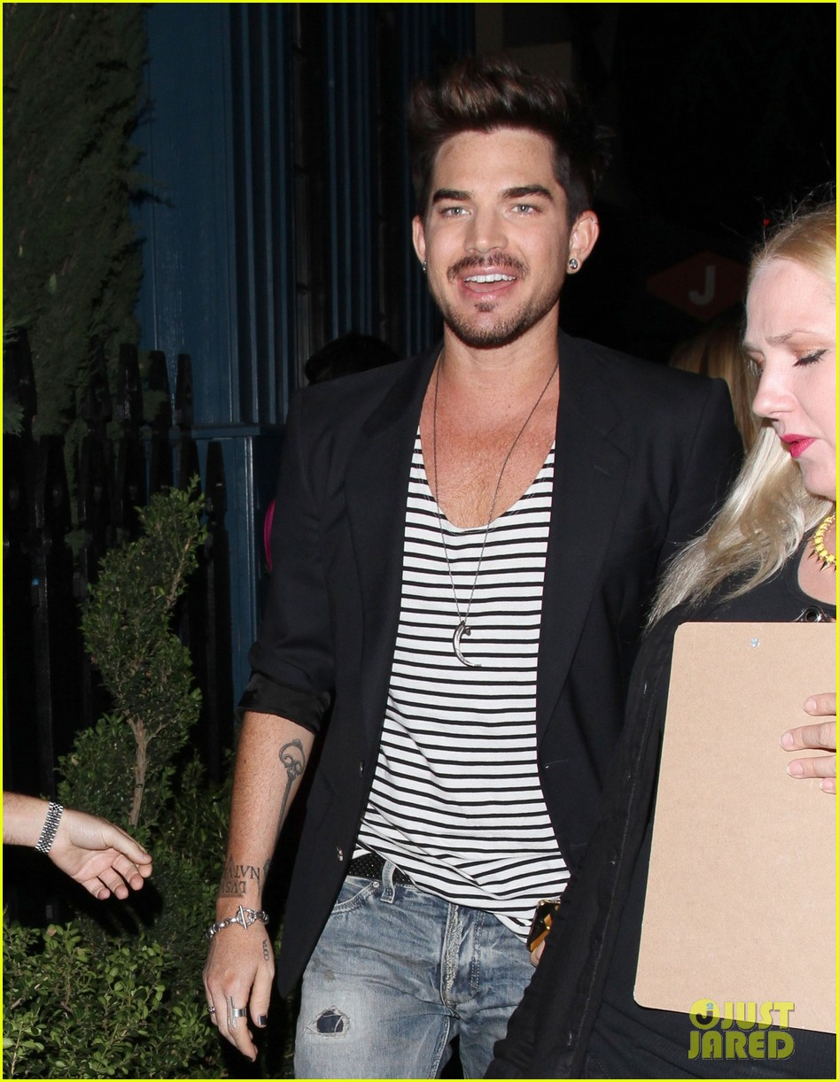 adam lambert ed sheeran hooray henrys night out 152940021