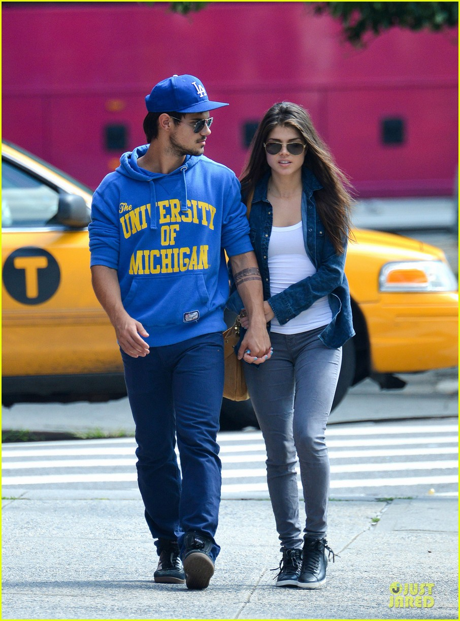 taylor lautner marie avgeropoulos romantic walk in nyc 062922973