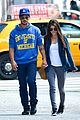 taylor lautner marie avgeropoulos romantic walk in nyc 03