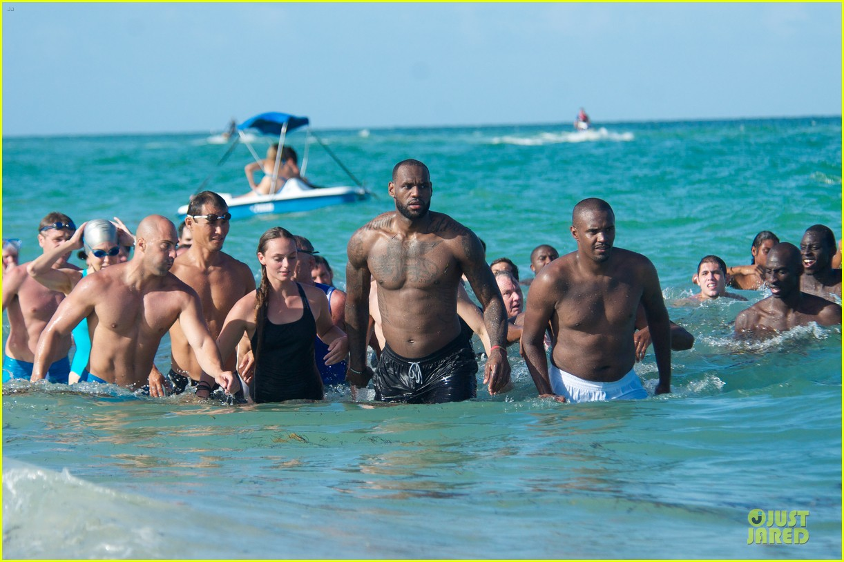lebron james shirtless nike commercial shoot 232932132