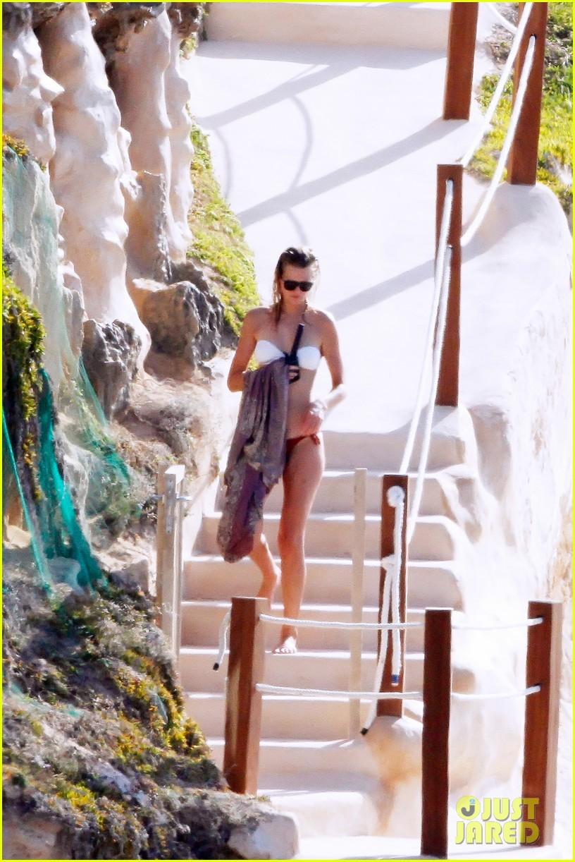 leonardo dicaprio bikini clad toni garrn vacation in ibiza 172924933