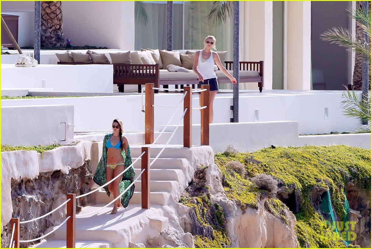 leonardo dicaprio bikini clad toni garrn vacation in ibiza 242924940