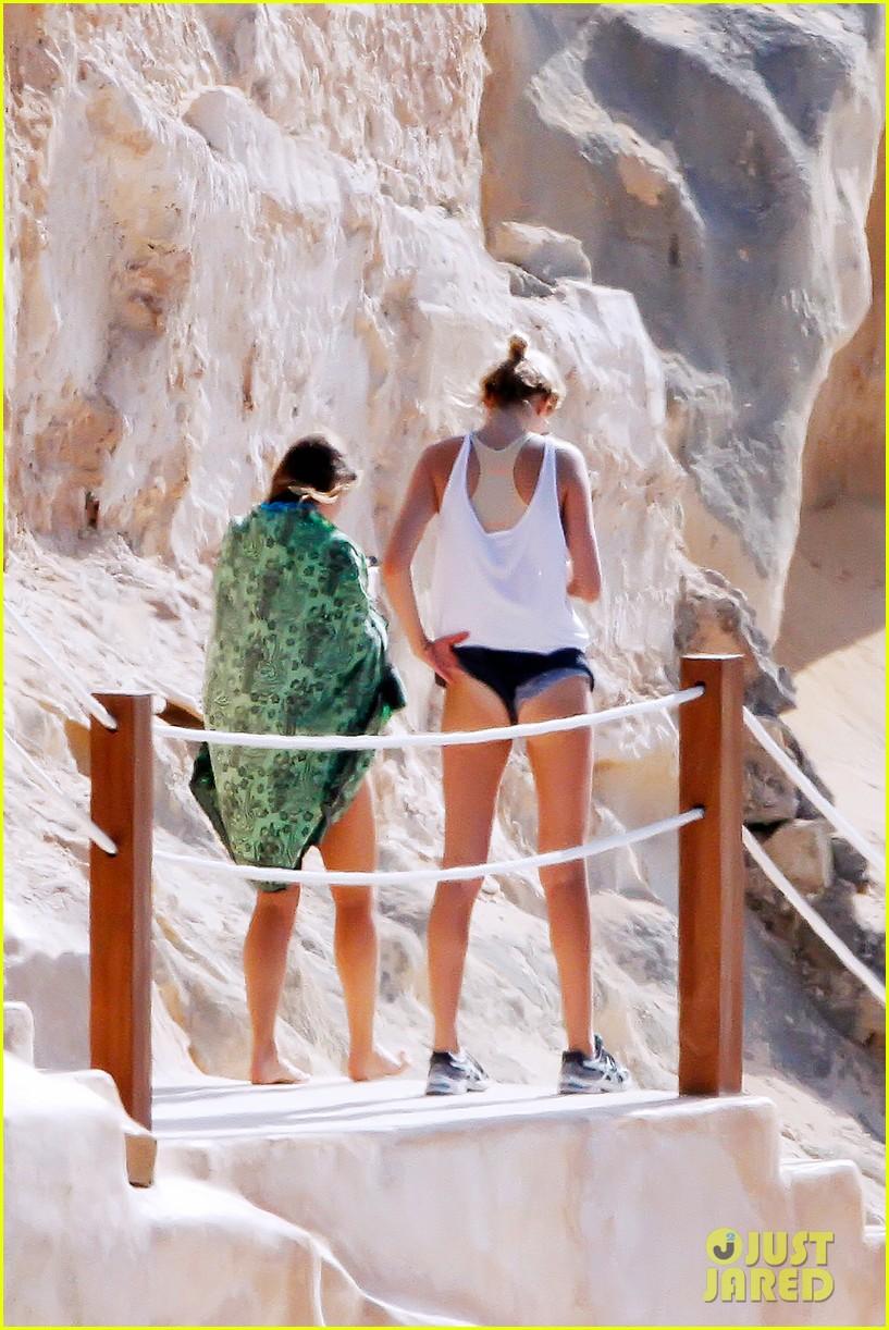 leonardo dicaprio bikini clad toni garrn vacation in ibiza 312924947