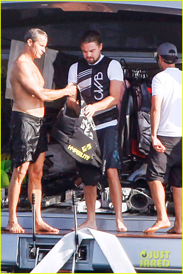 leonardo dicaprio flyboards in the air during ibiza vacation 042925476