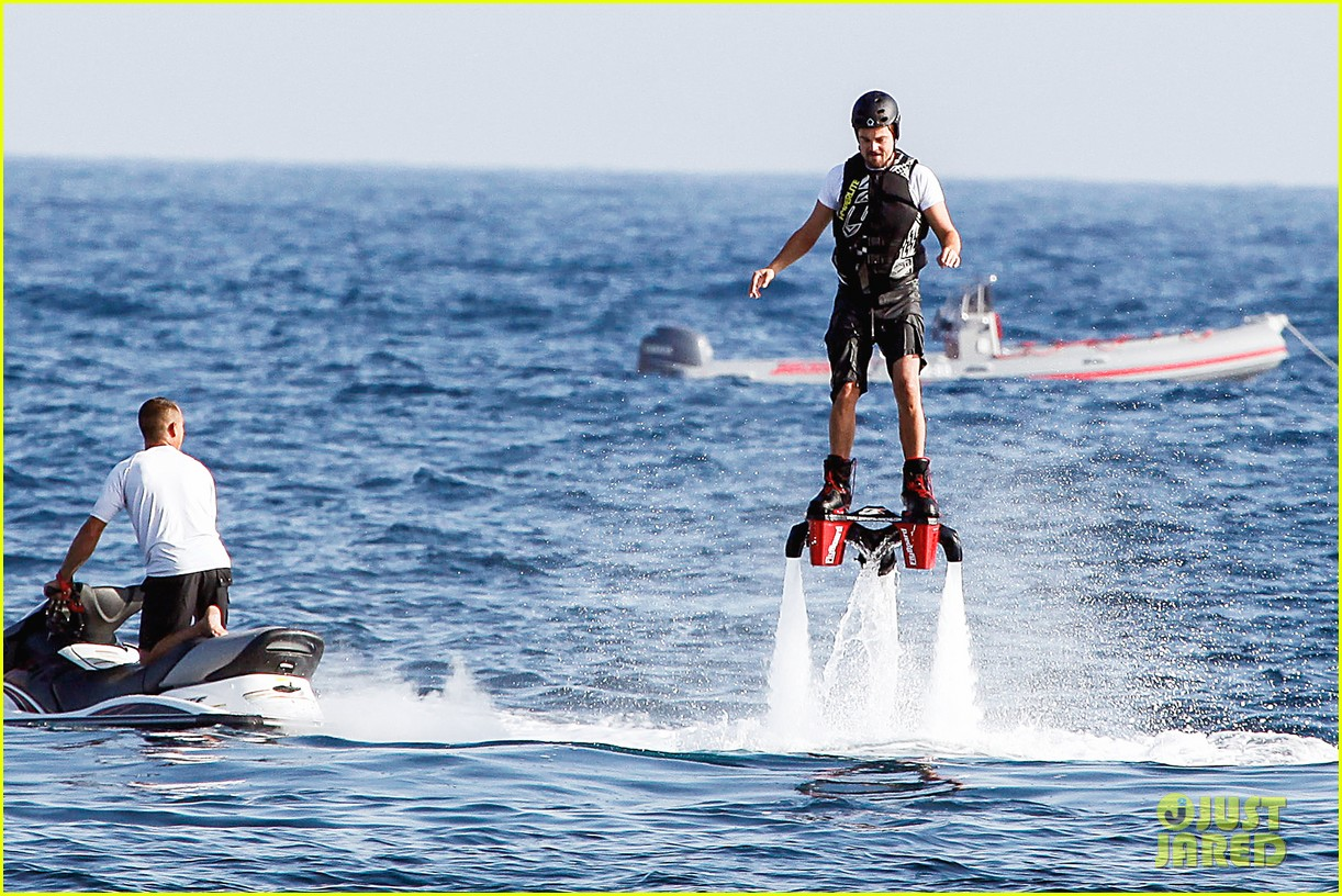 leonardo dicaprio flyboards in the air during ibiza vacation 05