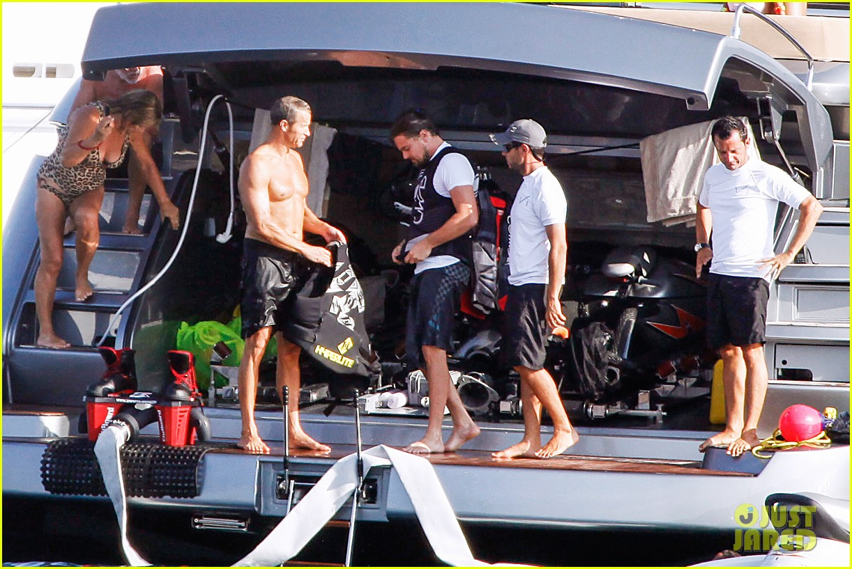 leonardo dicaprio flyboards in the air during ibiza vacation 062925478