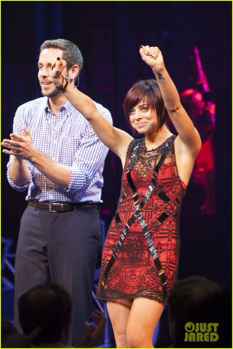 zachary levi krysta rodriguez first date opening night 052926515