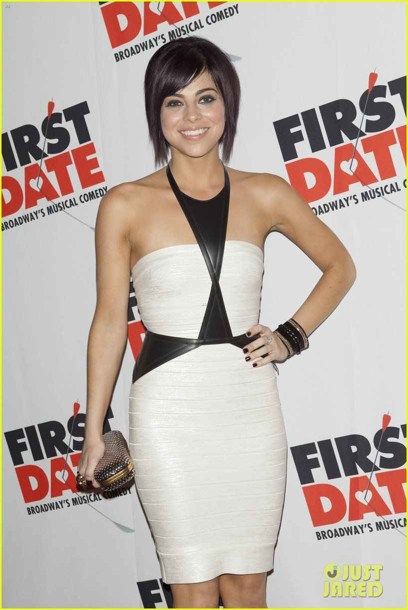 zachary levi krysta rodriguez first date opening night 082926518