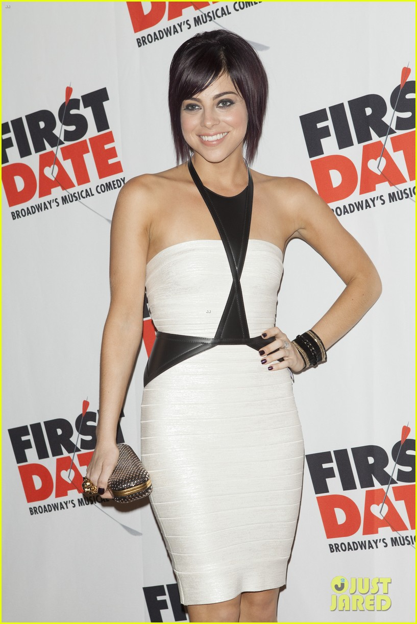 zachary levi krysta rodriguez first date opening night 09