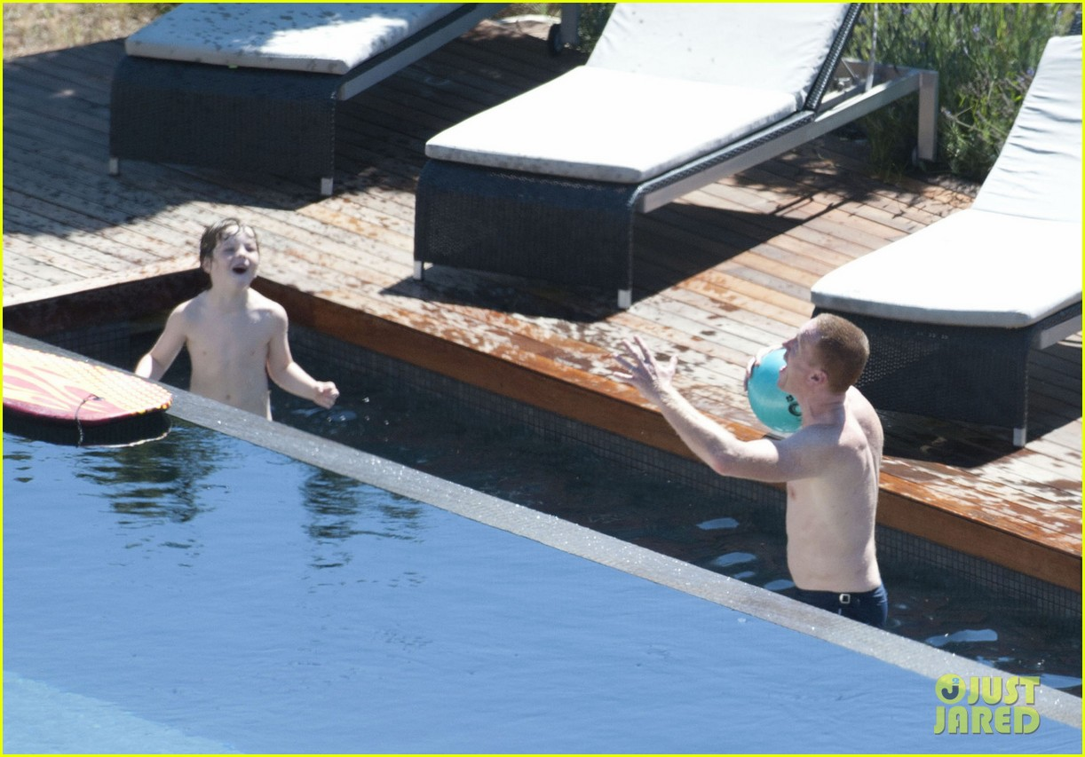 damian lewis shirtless family vacation in ibiza 022930108