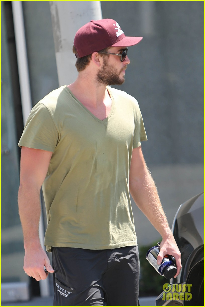 liam hemsworth hits the gym miley cyrus heads to the studio 02