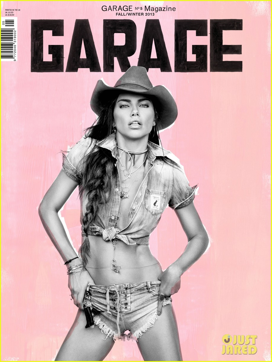 adriana lima covers garage fall winter 2013 02