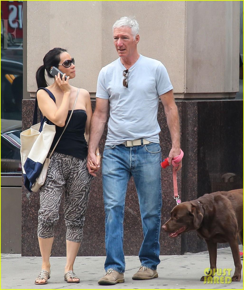 lucy liu new boyfriend hold hands in new york city 012932371