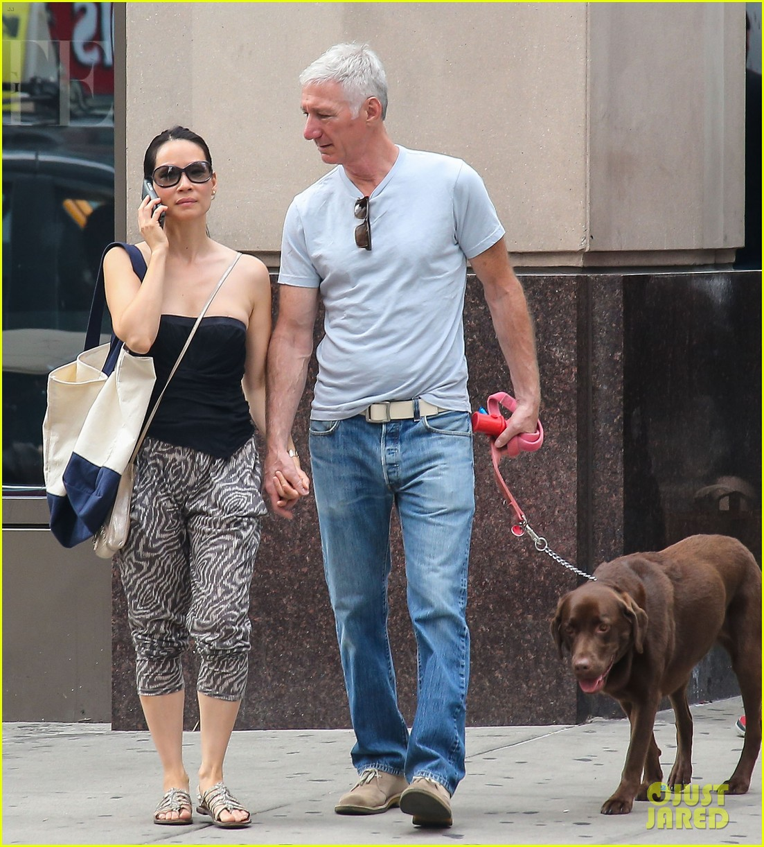 lucy liu new boyfriend hold hands in new york city 072932377