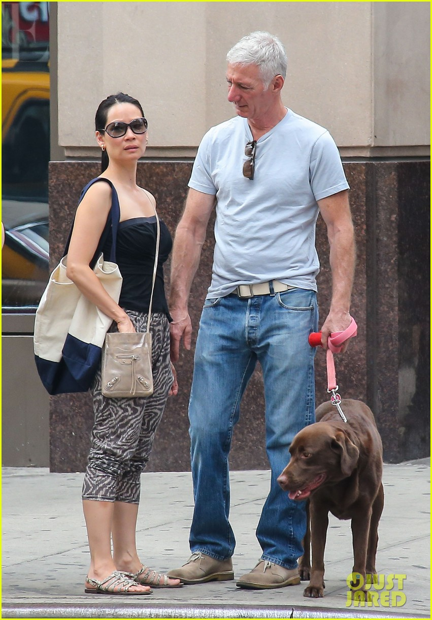 lucy liu new boyfriend hold hands in new york city 092932379