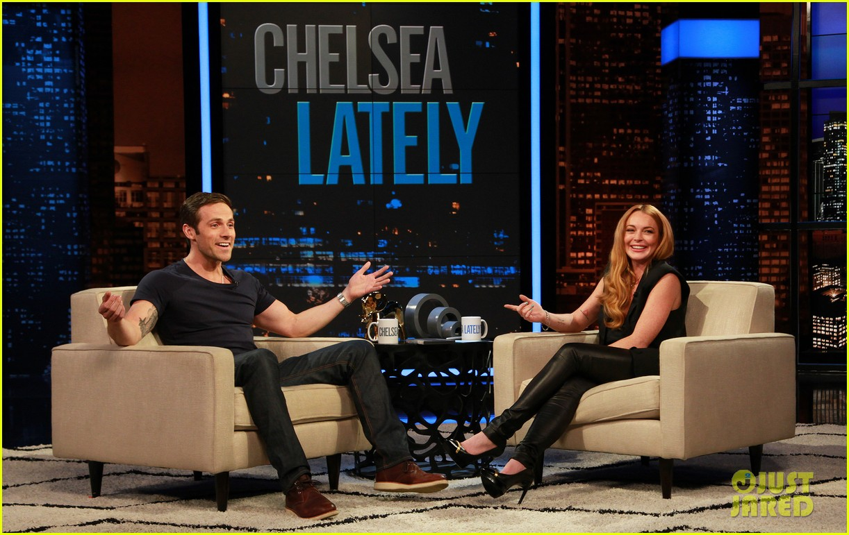 lindsay lohan hosts chelsea lately 012924772