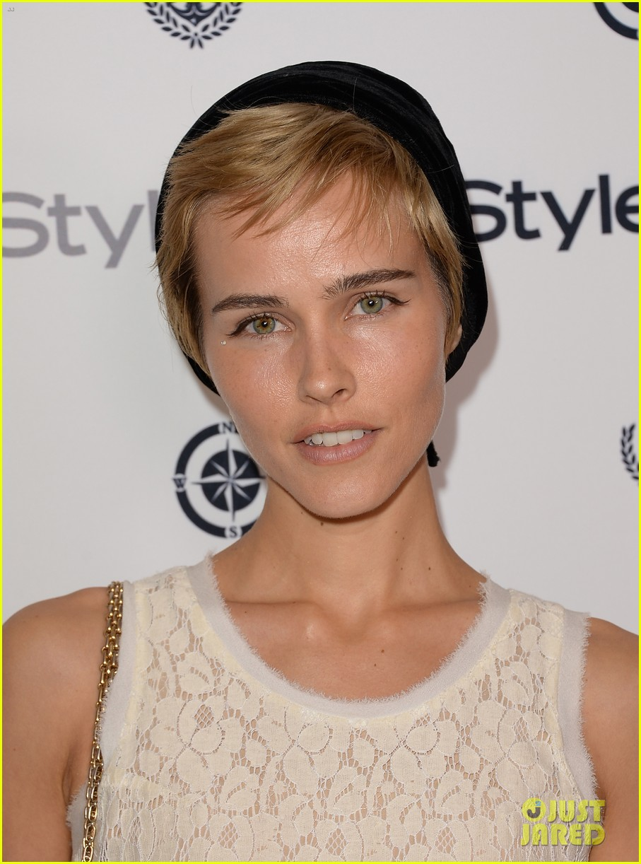 isabel lucas ashley madekwe instyle summer soiree 052930574