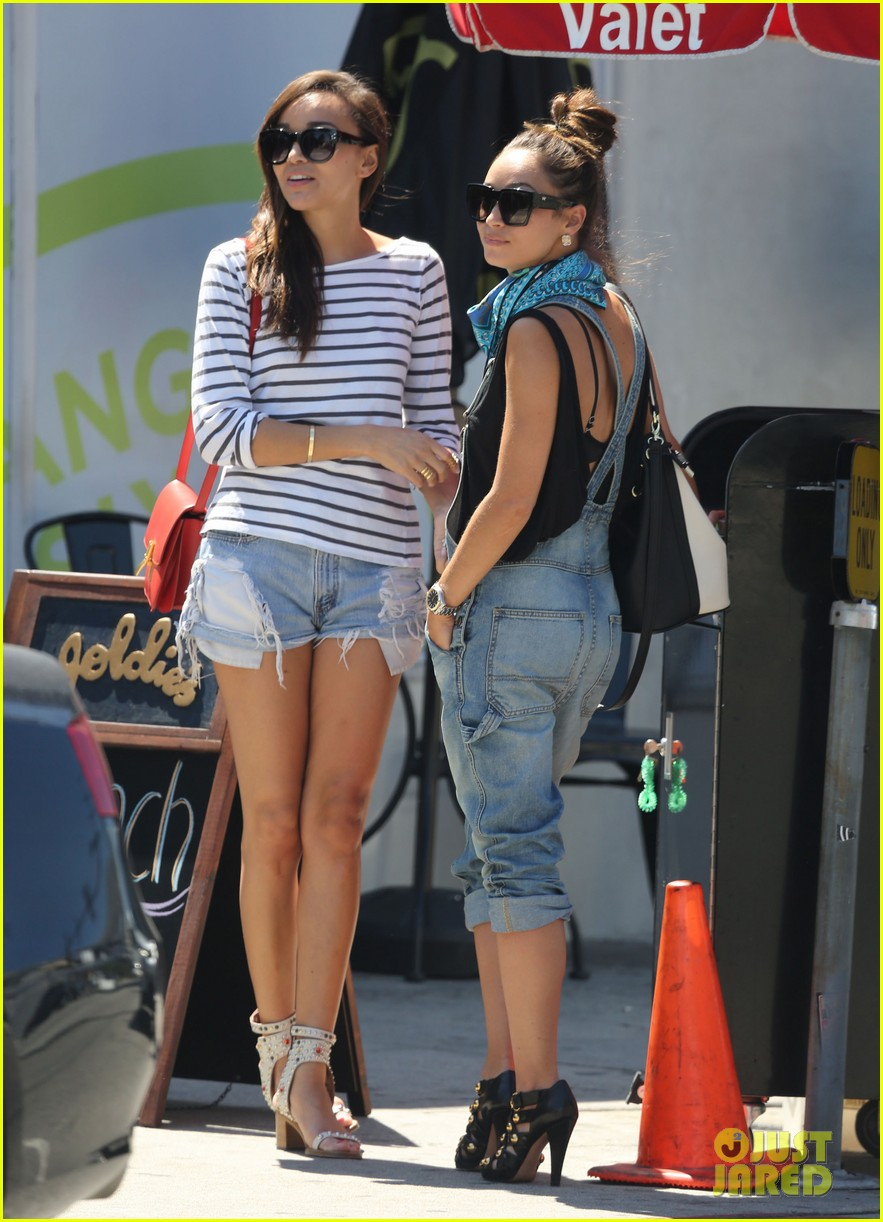 ashley madekwe cara santana izakaya lunch date 032940649