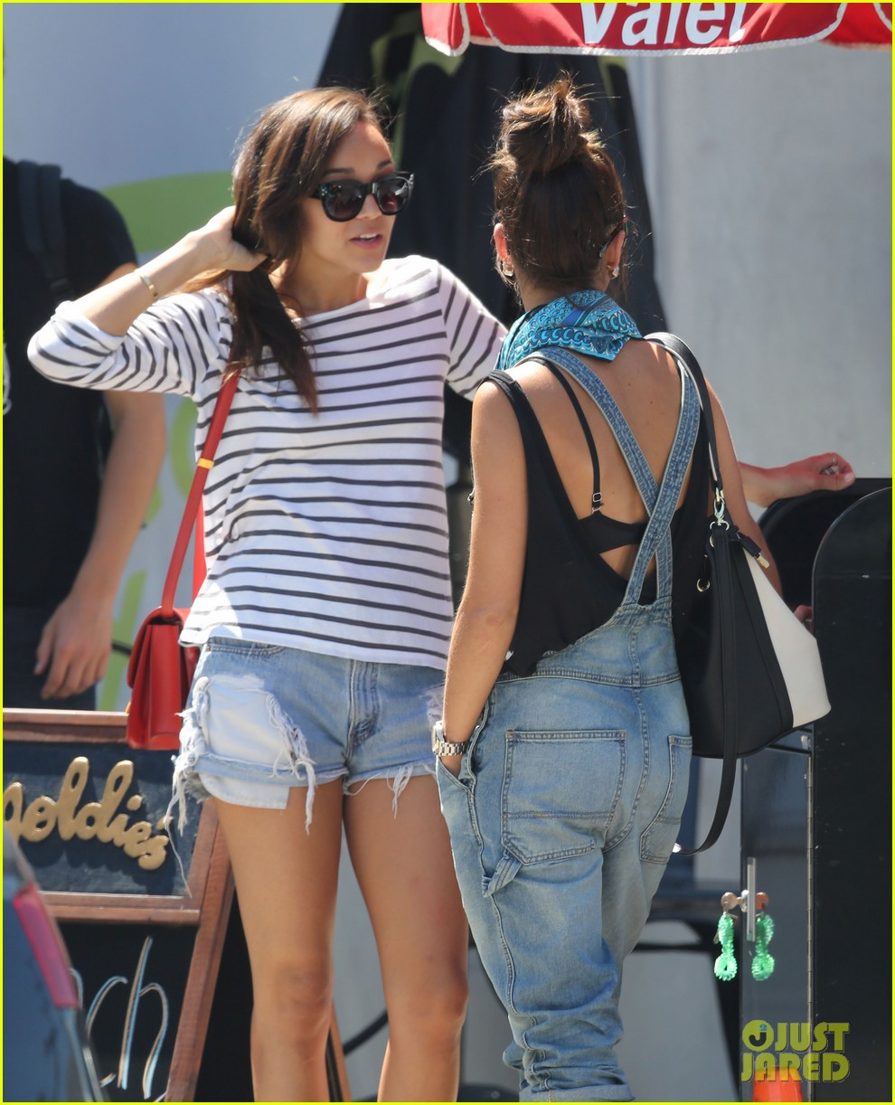 ashley madekwe cara santana izakaya lunch date 072940653