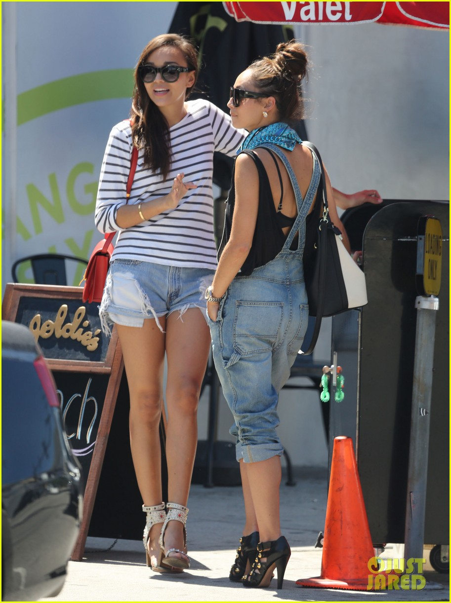 ashley madekwe cara santana izakaya lunch date 082940654