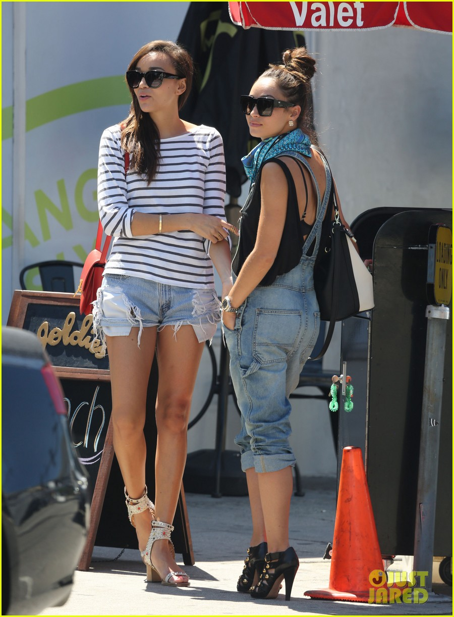 ashley madekwe cara santana izakaya lunch date 102940656