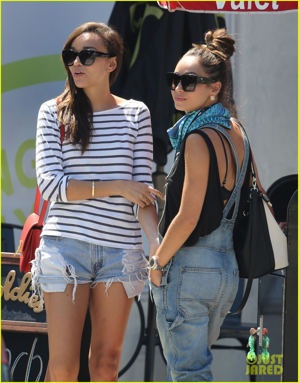 ashley madekwe cara santana izakaya lunch date 112940657