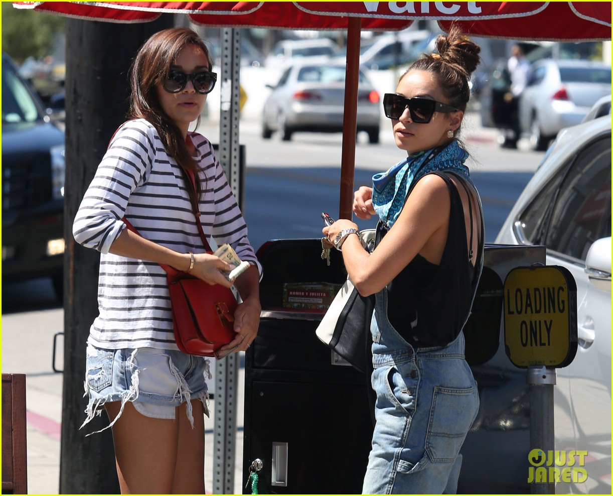 ashley madekwe cara santana izakaya lunch date 142940660