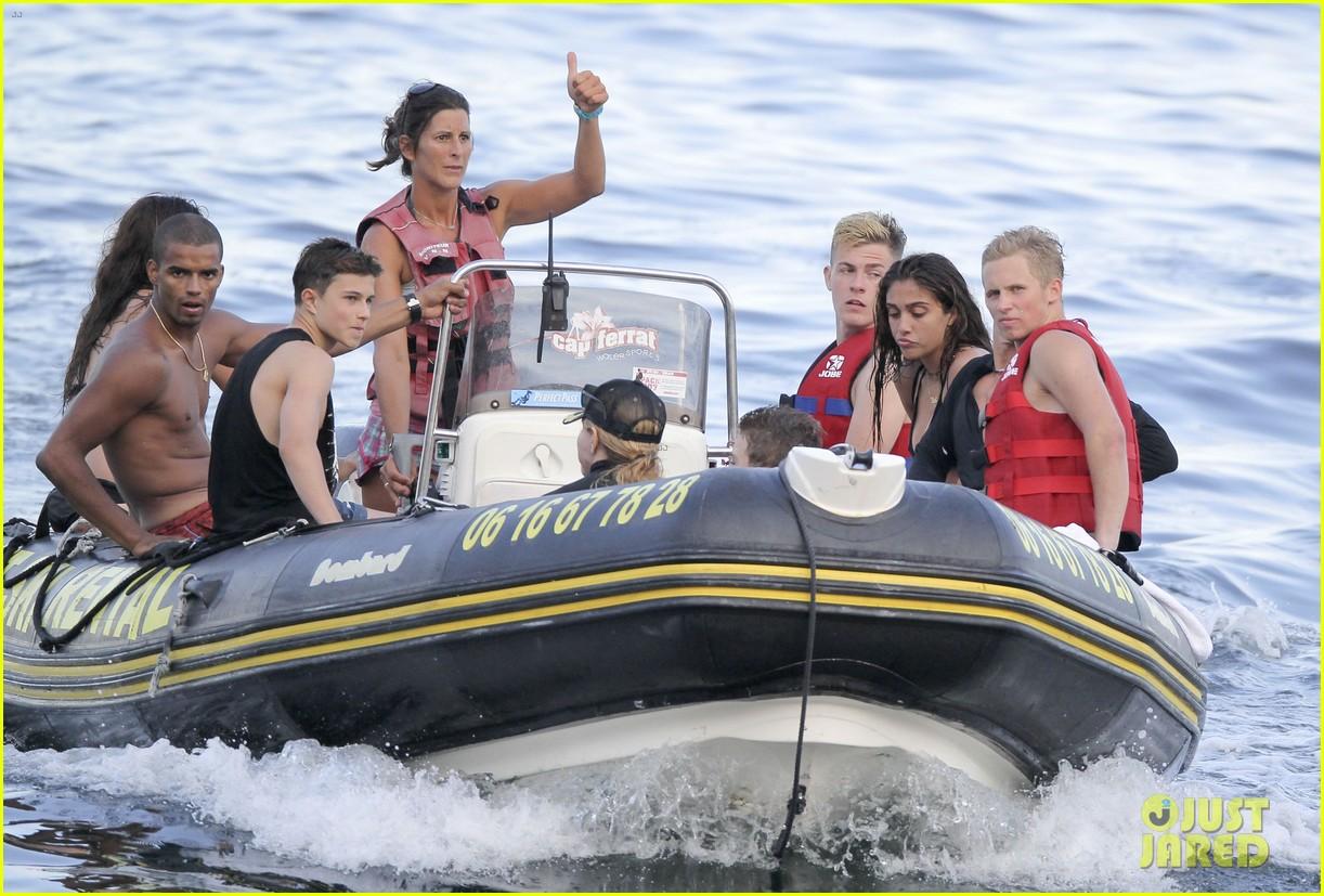 madonna shirtless brahim zaibat vacation with her kids 082930867