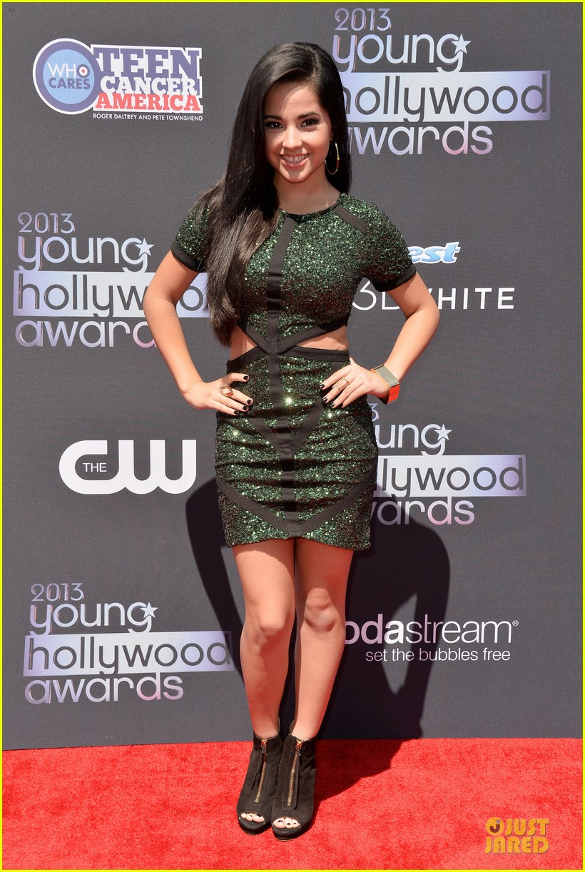 austin mahone becky g young hollywood awards 2013 red carpet 032921739